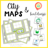 City maps & Buildings