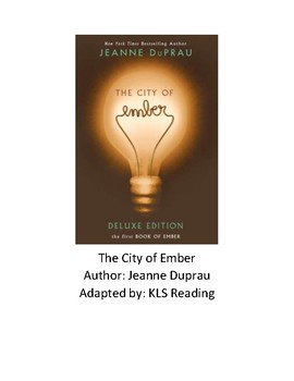 City of Ember - Adapted Book - Chapter Summary - Review Questions