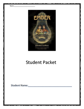 City of Ember *Complete Unit* using Close Reading strategi
