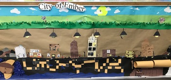 City of Ember Class 3-D Mural Project