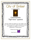 City of Ember - Comprehension Questions
