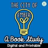 City of Ember Novel Study Digital and Printable