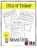 City of Ember Novel Unit