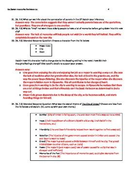 City of Ember Test - Aligned to RL CC Standards