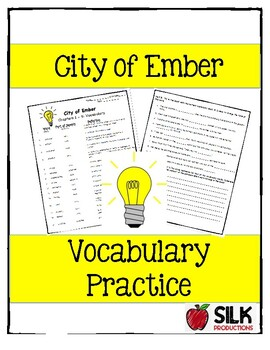 City of Ember Vocabulary
