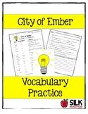 City of Ember Vocabulary