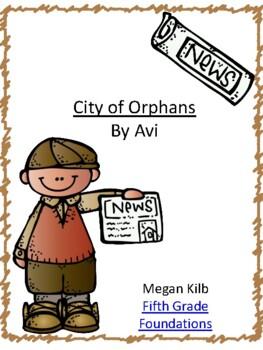 City of Orphans by Avi Novel Unit