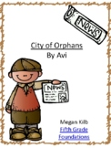 City of Orphans by Avi Novel Unit