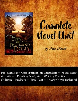 City of a Thousand Dolls Complete Novel Unit