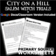 City on a Hill/Salem Witch Trials Worksheet - Primary Source (American Colonies)