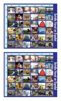 City versus Country Living Spanish Legal Size Photo Battleship Game