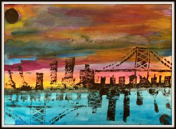 Cityscape Printmaking Project