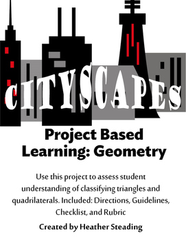 Cityscapes {2D Shapes Project Based Learning}