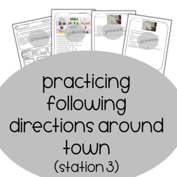 Ciudad, City, Town and getting around! Prepositions and Directions Spanish