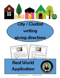 Ciudad, City, Town and getting around!  Giving Directions in Spanish