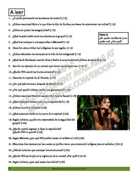 Ciudad de las bestias Spanish Learner's Guide - SAMPLE