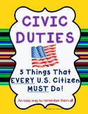 Civic Duties for U.S. Citizens