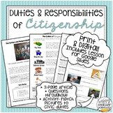 Civic Duties & Responsibilities Article & Picture Analysis
