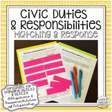 Civic Duties & Responsibilities | Scenarios & Response