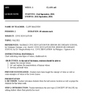 Civic Education Lesson Note and Lesson Plan