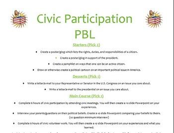Civic Participation Project