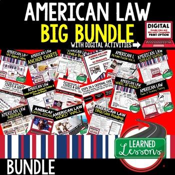 Civics American Law BUNDLE