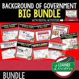 Background of Government BUNDLE (Civics BUNDLE & Governmen