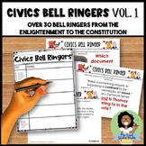 Civics Bell Ringers Vol. I The Enlightenment to the Constitution