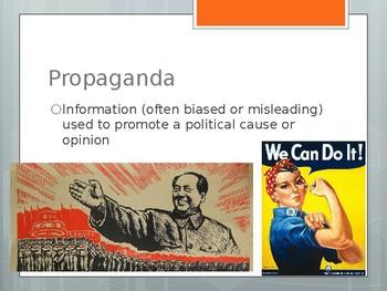 Civics - Campaigns and Propaganda