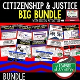 Civics Citizenship and Justice BUNDLE (Civics and Government Bundle)