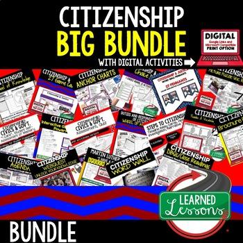 Civics Citizenship and Justice BUNDLE (Civics and Government Bundle)