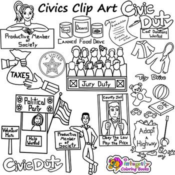 civics clip art and social studies clip art tpt civics clip art and social studies clip art