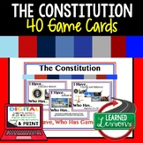 Civics Constitution Game Cards (40 I Have, Who Has Cards)