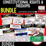 Civics Constitutional Freedoms and Rights BUNDLE (Civics & Government BUNDLE)
