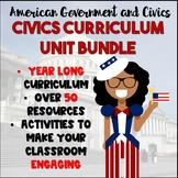 Civics Curriculum Bundle   Full Year of Civics Resources