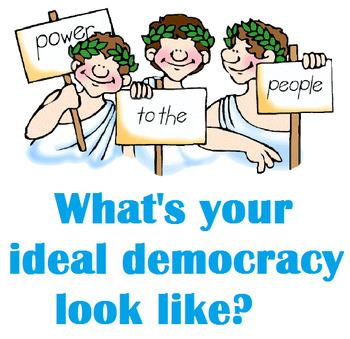 Civics- Degrees of Democracy!