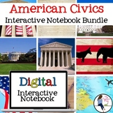 Civics Digital Interactive Notebook Bundle for Google Drive
