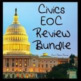 Civics EOC Review Games Bundle