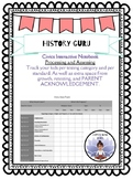 Civics EOC Data Tracker {History Guru}