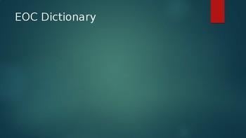 Civics EOC Dictionary