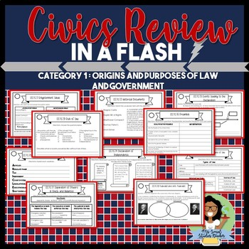 Civics EOC Review: Category 1 Origins and Purposes of Law and Government