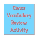 Civics EOC Vocabulary Review