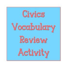 Civics EOC Vocabulary Review