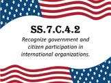 Civics EOC Vocabulary ~ SS.7.C.4.2