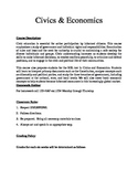 Civics & Economics Course Syllabus
