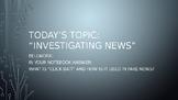 Civics: Fake News Day 2+3  Powerpoint