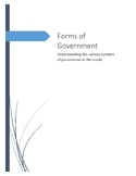 Civics Forms of Government