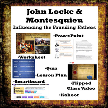 John Locke & Montesquieu: Influencing the Founding Fathers - Civics EOC