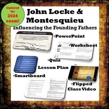 John Locke & Montesquieu: Influencing the Founding Fathers