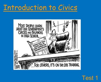 Civics Full Semester Presentations
